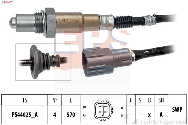 EPS  1.313.101 Zündverteilerkappe Made in Italy - OE Equivalent