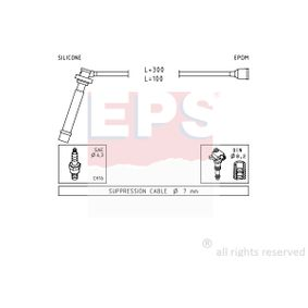 Ignition Cable Kit with OEM Number 33705 80G00 000