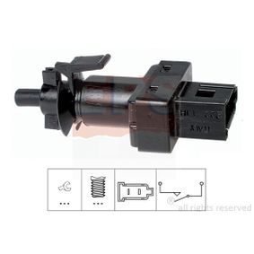 Switch, clutch control (cruise control) with OEM Number A 004 545 21 14