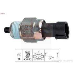 Switch, reverse light 1.860.142 PUNTO (188) 1.2 16V 80 MY 2000