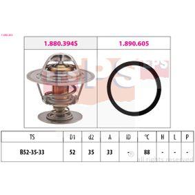 Thermostat, Kühlmittel D1: 52mm, D2: 35mm mit OEM-Nummer 6169774