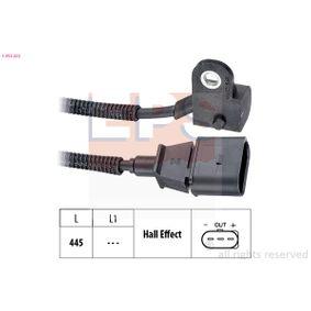 Sensor, posición arbol de levas Long. cable: 445mm con OEM número 038 957 147G