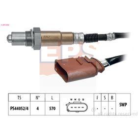 Lambdasonde Kabellänge: 570mm mit OEM-Nummer 036 906 262 F