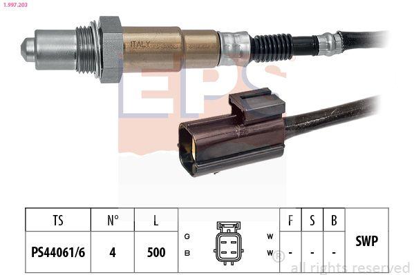EPS  1.997.203 Lambdasonde Kabellänge: 500mm