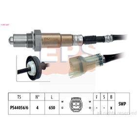 Lambdasonde Kabellänge: 650mm mit OEM-Nummer 1821367D10