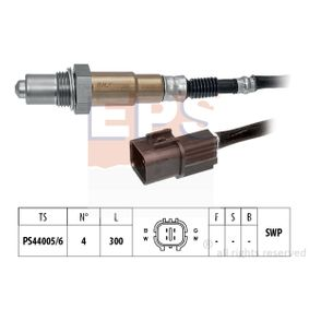 Lambdasonde Kabellänge: 300mm mit OEM-Nummer 39210-39-040