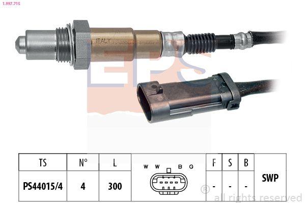 EPS  1.997.715 Lambdasonde Kabellänge: 300mm