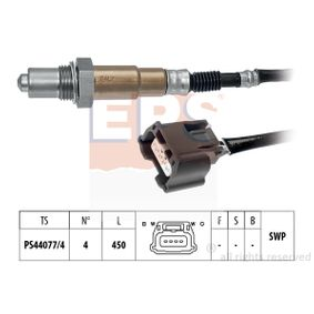 Lambdasonde Kabellänge: 450mm mit OEM-Nummer 226A0 1KT0A