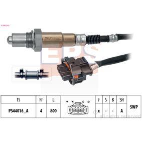 Lambdasonde Kabellänge: 800mm mit OEM-Nummer 98760612400