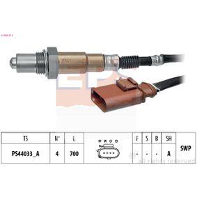 Lambdasonde Kabellänge: 700mm mit OEM-Nummer 022 906 262CF