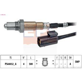 Lambdasonde Kabellänge: 500mm mit OEM-Nummer 39210-23800