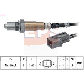 Lambdasonde Kabellänge: 1100mm mit OEM-Nummer 392102B050