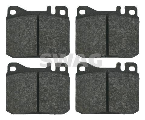 SWAG  10 91 6045 Bremsbelagsatz, Scheibenbremse Breite: 73,8mm, Dicke/Stärke 1: 17,5mm