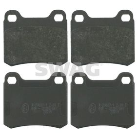 Bremsbelagsatz, Scheibenbremse Breite: 54,3mm, Dicke/Stärke 1: 13,5mm mit OEM-Nummer A 001 420 0120
