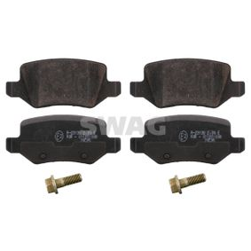 Brake Pad Set, disc brake Width: 41,5mm, Thickness 1: 14,3mm with OEM Number A16 842 00 420