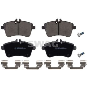 Brake Pad Set, disc brake Width: 69,5mm, Thickness 1: 19,6mm with OEM Number A 169 420 01 20