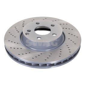 Disco freno Spessore disco freno: 32mm, Ø: 322,0mm con OEM Numero A 000 421 3012
