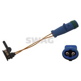 Warnkontakt, Bremsbelagverschleiß Länge: 97mm mit OEM-Nummer 1695401617
