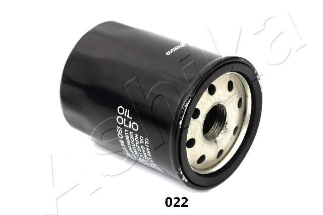 ASHIKA  10-00-022 Filtro olio Ø: 65mm, Lunghezza: 85mm, Lunghezza: 85mm