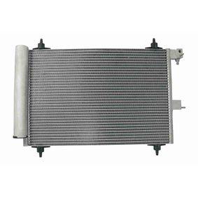 Kondensator, Klimaanlage mit OEM-Nummer 9645974780