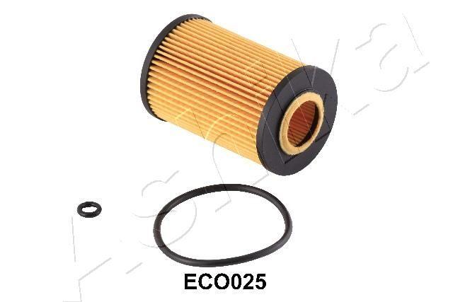 ASHIKA  10-ECO025 Ölfilter Ø: 65mm, Innendurchmesser: 29mm, Länge: 103mm, Länge: 103mm