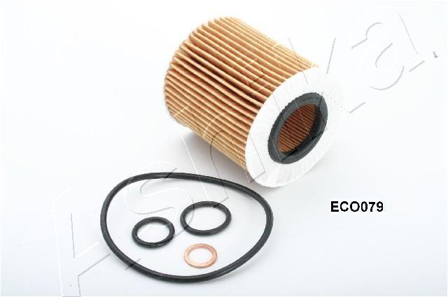 ASHIKA  10-ECO079 Ölfilter Ø: 72mm, Innendurchmesser: 32mm