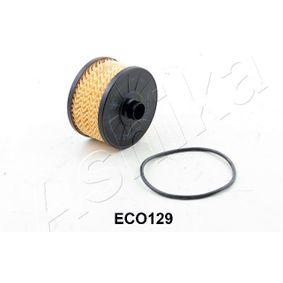 ASHIKA  10-ECO129 Ölfilter Ø: 91mm
