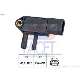 Senzor, tlak vyfuk.plynu 10.3266 Octa6a 2 Combi (1Z5) 1.6 TDI rok 2013