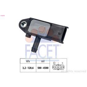 Sensore, Pressione gas scarico con OEM Numero 5179 2301