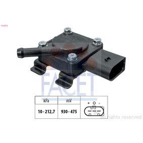 Sensor, Abgasdruck 10.3312 X3 (E83) 2.0 d Bj 2005