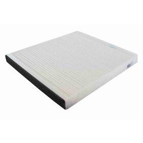 Filtro, aire habitáculo Long.: 248mm, Ancho: 198mm, Altura: 19mm con OEM número EC 965 396 49