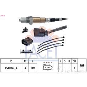 Lambdasonde Kabellänge: 800mm mit OEM-Nummer 06A 906 262 CL