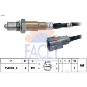 Lambdasonde Kabellänge: 450mm mit OEM-Nummer 89465 05080