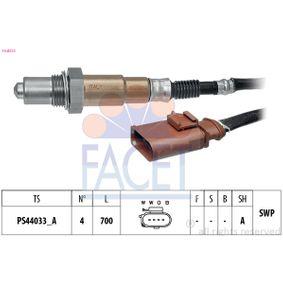 Lambdasonde Kabellänge: 700mm mit OEM-Nummer 022906262CF