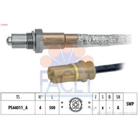 Lambdasonde Kabellänge: 500mm mit OEM-Nummer 11-78-7-545-075