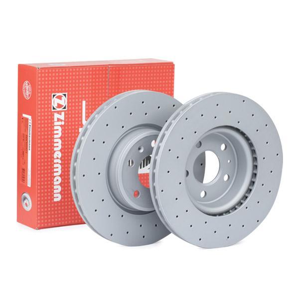 ZIMMERMANN SPORT COAT Z 100.3377.52 Bremsscheibe Bremsscheibendicke: 30mm, Lochanzahl: 5, Ø: 318mm