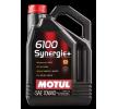 Kupuj online MOTUL Półsyntetyczny silnikowy olej 6100, SYNERGIE+, 10W-40, 5l w niskiej cenie - EAN: 3374650284606