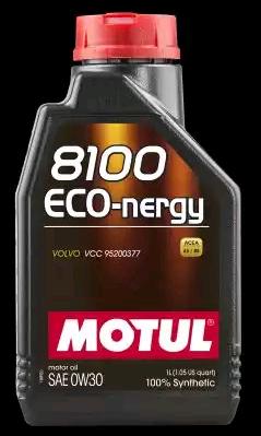 Aceite de motor MOTUL 8100ECONERGY0W30 evaluación