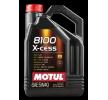 Ostaa edullisesti Moottoriöljyä MOTUL 8100, X-CESS, 5W-40, 5l netistä - EAN: 3374650238241