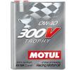 Köp billigt Bil olja MOTUL SAE-0W-40 på nätet - EAN: 3374650239811