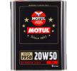 Køb billige Motor olie MOTUL SAE-20W-50 online - EAN: 3374650237466