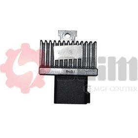 Control Unit, glow plug system 105640 Note (E11, NE11) 1.5 dCi MY 2009