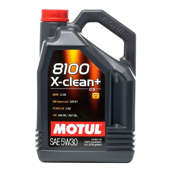 Aceite de motor MOTUL 5W30 conocimiento experto