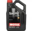 Motoröl Nissan Tiida SС11 1.6 0W-30, Inhalt: 5l, Synthetiköl