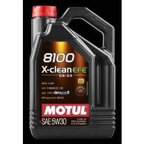 MOTUL 8100, X-CLEAN EFE 107206 Motoröl