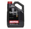 MOTUL Motorenöl VW 508 00 0W-20, Inhalt: 5l, Synthetiköl