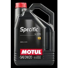 MOTUL SPECIFIC, LL-14 FE+ 107389 Двигателно масло