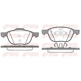 Bremsbelagsatz, Scheibenbremse Höhe 2: 62,2mm, Höhe: 67mm, Dicke/Stärke: 18mm mit OEM-Nummer CV6Z 2001-A