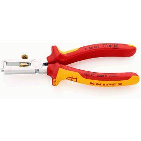KNIPEX клещи за сваляне на изолации 11 06 160