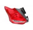 Rear lights TYC 8832095 Left, without bulb, without lamp base, P21/5W, PY21W, W16W